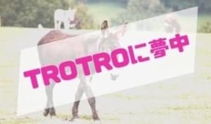 アニメ「TROTRO」に夢中な娘